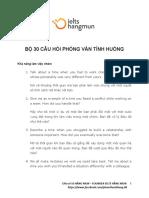 [HangMun] Bo 30 cau hoi phong van.docx