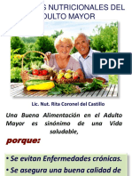 Cuidados Nutricionales Del Adulto Mayor