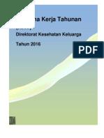 Rencana Kerja Tahunan Kesga 2016
