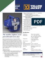 Yj Lte Spec Sheet2 Refrigerant Recovery System