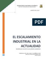 REPORTE Escalamiento Industrial.