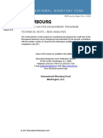 IMF Luxembourg Financial Sector Assessment Program - Technical Note-Risk Analysis,2017