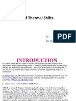Types of Thermal Shifts