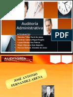 Auditoria Administrativa 4 Arena