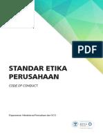 Buku Pedoman Standar Etika Perusahaan