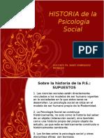 Historia de La PS