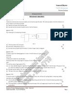 Measurment Structure Questions