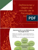 Definiciones y Objeto de Estudio PS