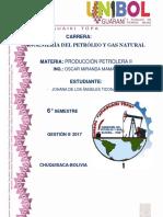 Producción Petrolera II