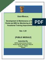 DGET-Public User Manual