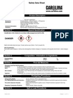 acetone msds