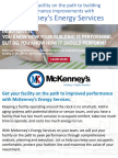 Energy Services - Put Your Facility On The Path To Building Performance Improvements