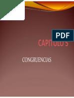Cap 5 Congruencias