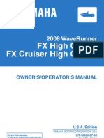 fx ho 2008 owners manual