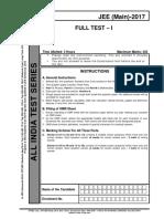 Jee Main Test 1.pdf