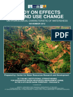 04 Study Effect of Landuse Change on Hydrological Character 2012