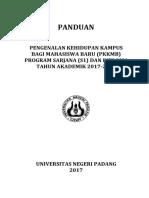 PANDUAN PKKMB 2017
