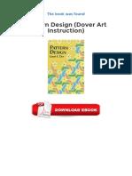 Pattern Design Dover Art Instruction PDF.pdf