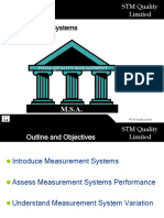 23 Measurement Systems Analysis