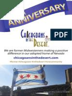 Chicagoans In The Desert Anniversary Issue