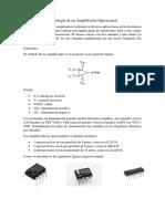 Simbología de Un Amplificador Operacional