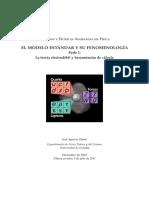 El Modelo Estándar y Su Fenomenología
