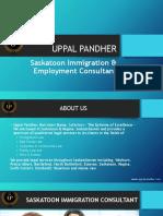 Saskatoon Immigration & Employment Consultant