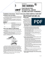 MasterGuard Manual For The 380 Series