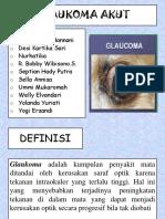 Gloukoma Akut