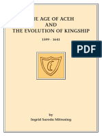 The Age of Aceh And Evolution of kingship