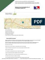 Chef de projet communication évenementielle (secteur nouvelles technologies) F_H