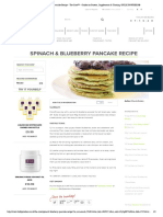 Spinach & Blueberry Pancake Recipe - The Core™ - Guides on Protein, Supplements & Training _ BULK POWDERS®