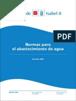 Normas Abastecimiento Agua 2004 Modificacion ANEXO 1M