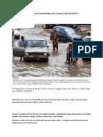 Heavy Monsoon Downpour Lashes Karachi