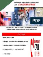 Kebijakan PSC 119 (Koord Pusk)