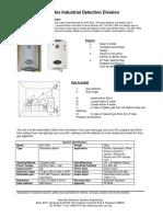 Securitex Flammable Gas Detector ND-104N