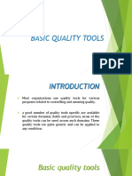 Basic Quality Tools