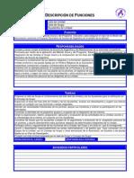 C8P - Descripción de Funciones - Jefe de Unidad