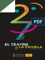 Programa 27 Ciclo El Teatro y la Escuela