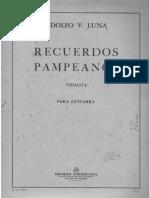 Luna Recuerdos Pampeanos