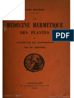1912 Maveric Medecine Hermetique Des Plantes