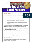 The End of High Blood Pressure