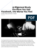 A New, More Rigorous Study Confirms_ the More You Use Facebook, The Worse You Feel