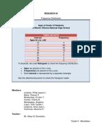 Histogram Data