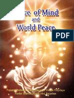 29. Peace of Mind World Peace