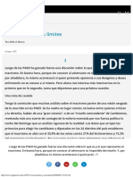 El Macrismo y Sus Límites Página12