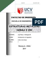 Trabajo de Estructuras Metálicas Para Presentar-1