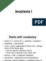 Neoplasia I