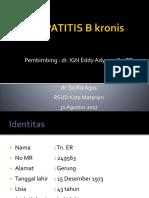 Hepatitis b Kronis