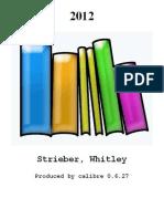 2012 - Strieber_ Whitley